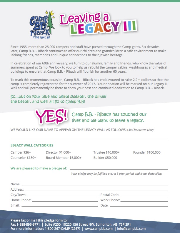 2016-Legacy III Pledge Form